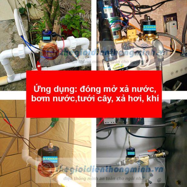 van điện từ ata chính hãng 220v 24vdc dùng điện