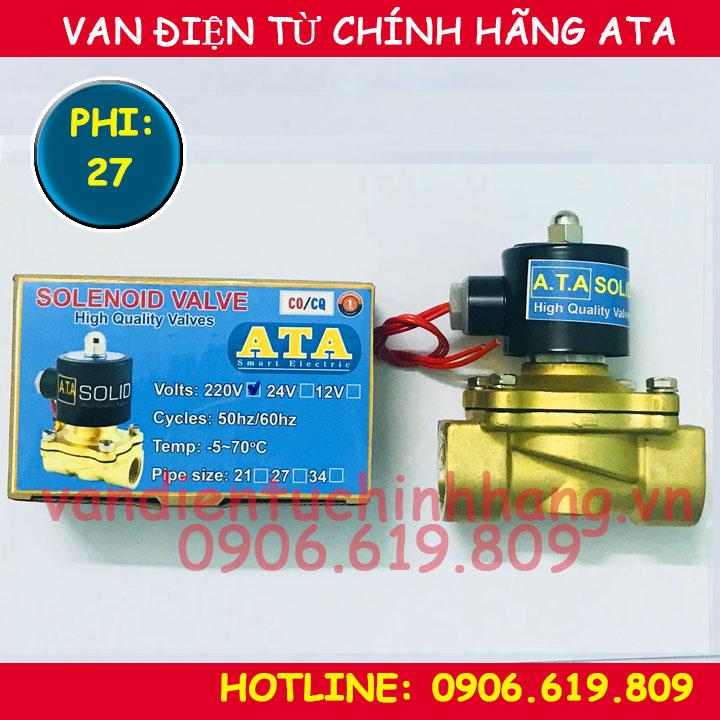 Van điện từ phi 27 ATA