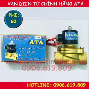 Van điện từ phi 60 ATA