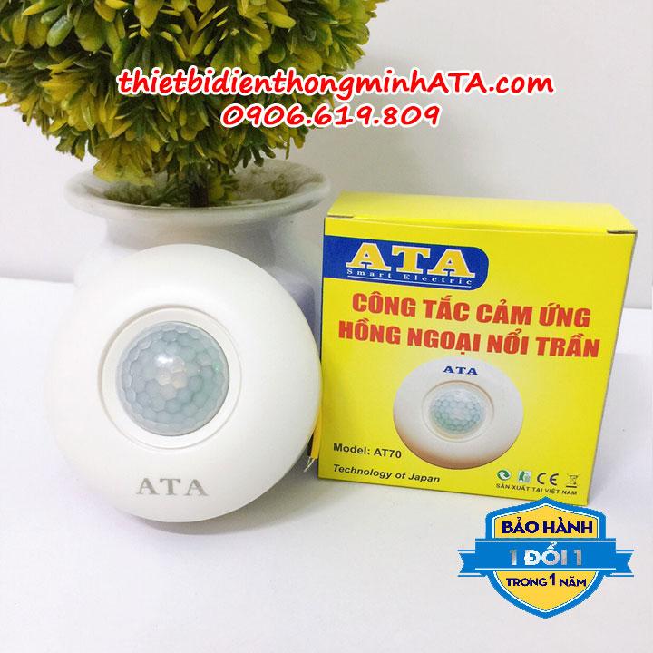 Công tắc cảm ứng gắn nổi trần ATA 70