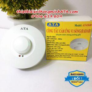 Công tắc cảm ứng vi sóng ATA 036B