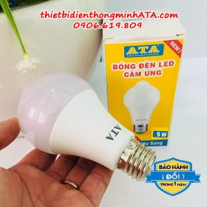 Bóng đèn led cảm ứng ATA 05W