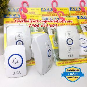 Chuông cửa đôi không dây cao cấp ATA 916A