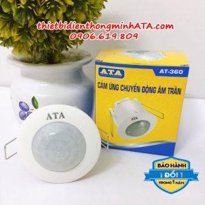 Công tắc cảm ứng gắn âm trần ATA 360