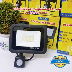 Đèn cảm ứng led pha ATA FS20W