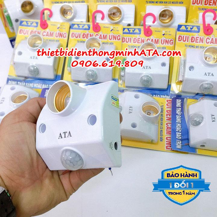Đui đèn cảm ứng ATA