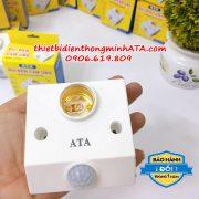Đui đèn cảm ứng cao cấp ATA