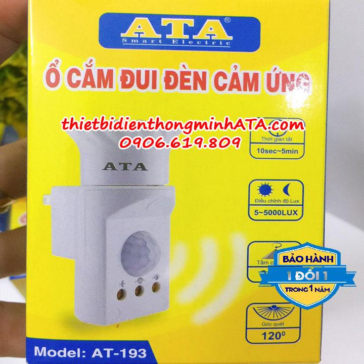 Ổ cắm đui đèn cảm ứng ATA