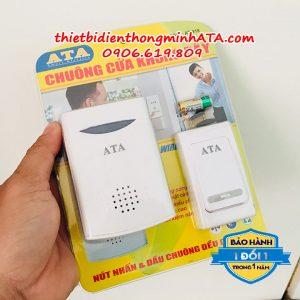Chuông cửa không dây dùng pin ATA 915