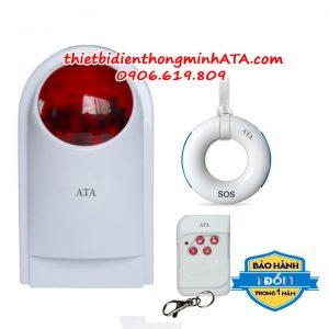 Hệ thống chuông báo động cho người già không dây vòng đeo cổ ATA 911