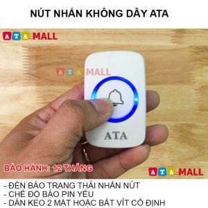 Nút nhấn chuông không dây cao cấp ATA