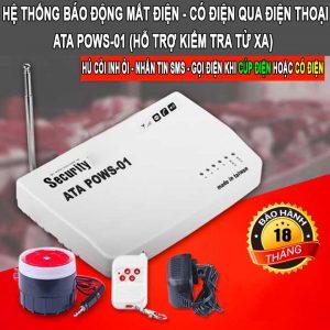 Thiết bị cảnh báo mất điện qua điện thoại bằng tin nhắn ATA POWS-01