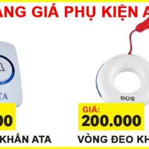 bảng giá Thiết bị báo khẩn cấp sos cho người già qua điện thoại ATA