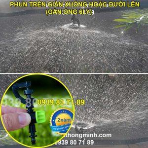 Đầu béc tưới phun mưa xoay 360 độ cao cấp Malee thái lan